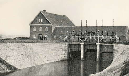 tangevaerket-gudenaacentralen-gamle-dage